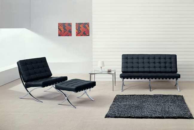 Description. Barcelona chair ... & Barcelona Sofa u0026 Chair -