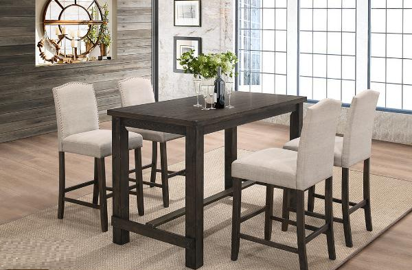 LM 5190 Dining Table 4 Chair